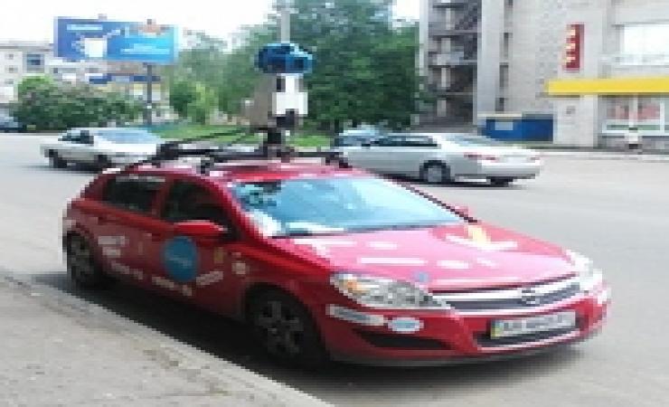 В Житомире гуглмобиль снимает панорамы для Google Maps