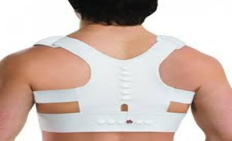 Магнитный корректор осанки для укрепления позвоночника и мышц спины