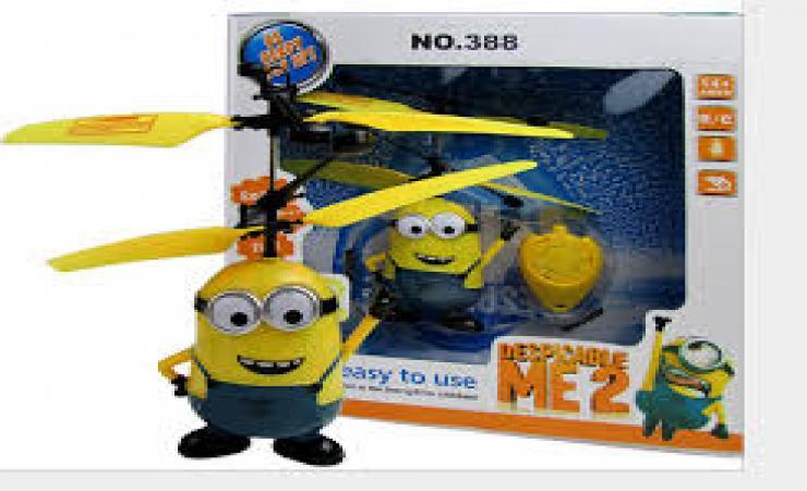 летающий миньон - игрушка для ребенка